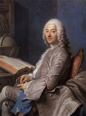 Portrait of Duval de l'Epinoy - Maurice Quentin de La Tour