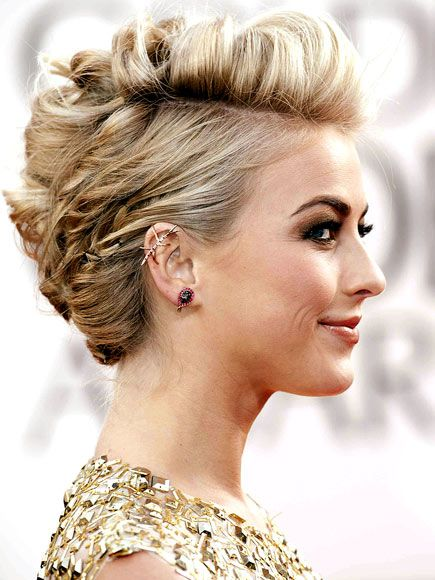 Love J. Hough's hair at the Golden Globes last night. So edgy and fun