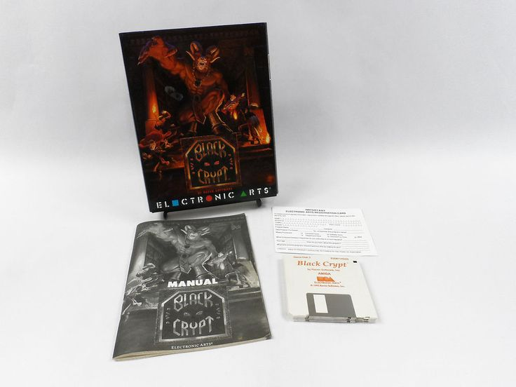 Black Crypt for Commodore Amiga by Raven Software Corporation, 1992, RPG