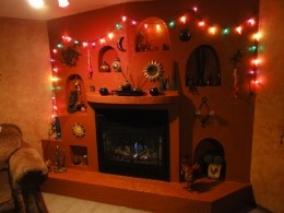 How to Build a Mexican Adobe Fireplace