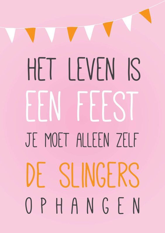 het leven is een feest | join the party! | free printable poster | Nelleke Wouters | gratis poster: