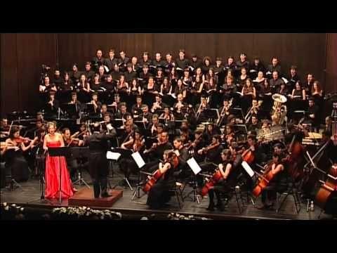 """P. Mascagni - """"Cavalleria Rusticana"""". Regina Coeli --Rejoice for the Lord has arisen"""
