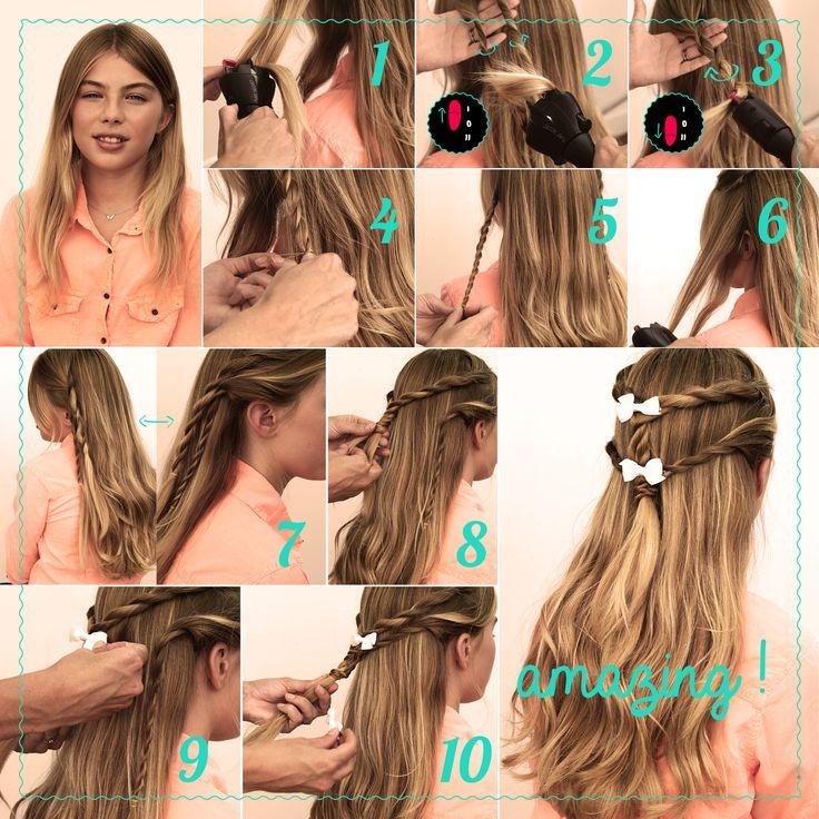 Babyliss présente la nouvelle série Twist Secret: 1 épisode à découvrir chaque semaine! #coiffure #style #tendance
