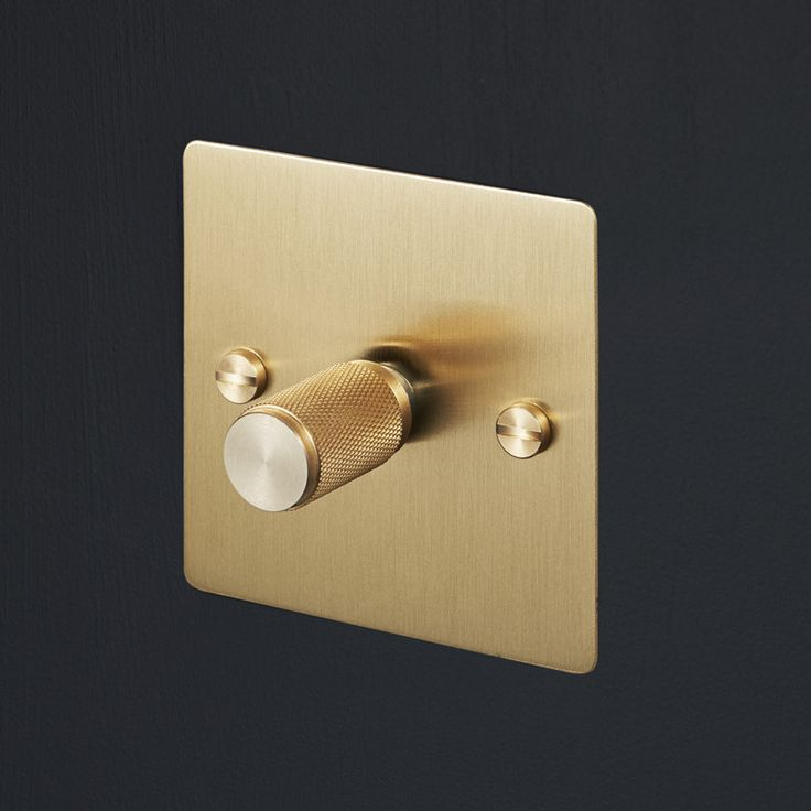 Buster & Punch - Switches & Dimmers - Brass