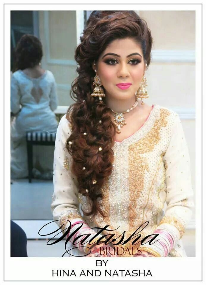 Mehndi Party Hairstyle : Pretty pakistani bride br des