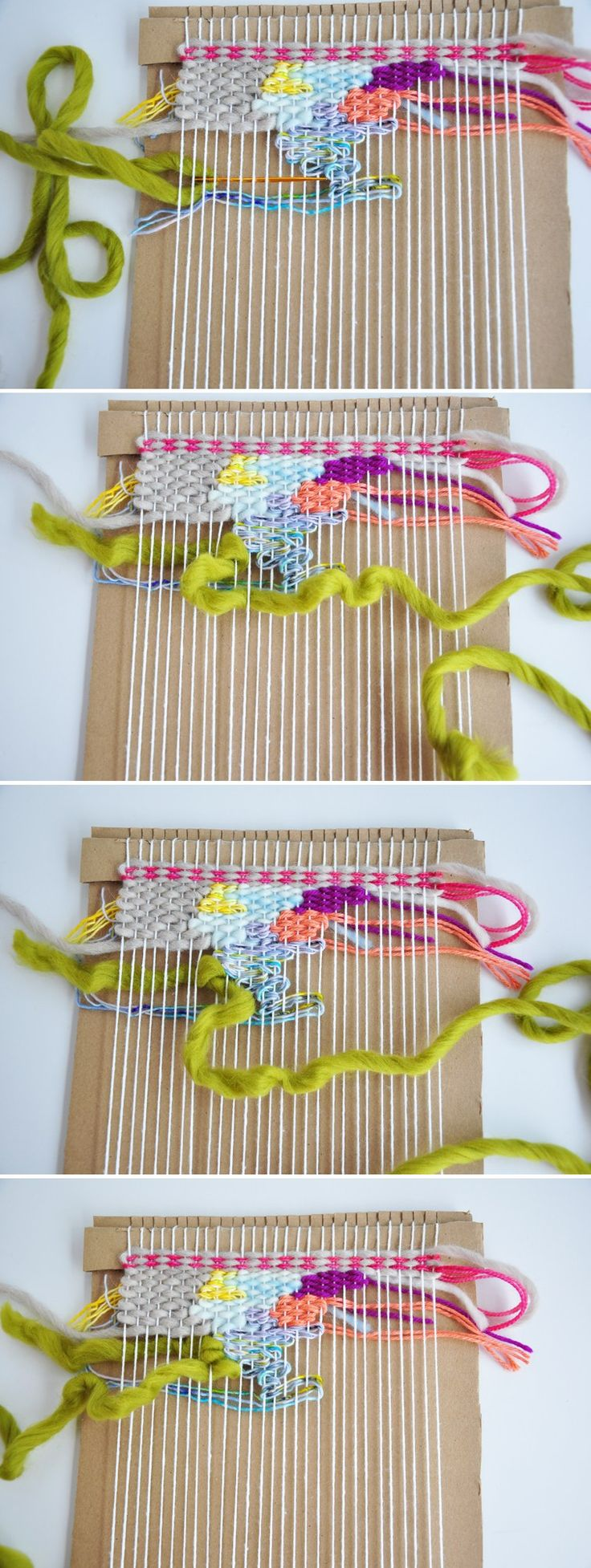 Easy spring crafts for seniors - How To Doodle Weave Mais