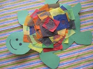 Onder water/zee thema idee  Nog een schildpadje!