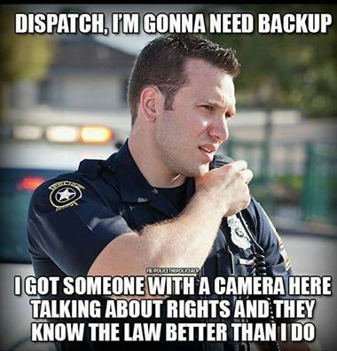 This...FBI SSG/agents repeatedly harassing/intimidating my friend, family & unsuccessfully trying to do same to me for exercising my constitutional rights to film their incompetence....you'd think FBI/DOJ would train their thugs in US law