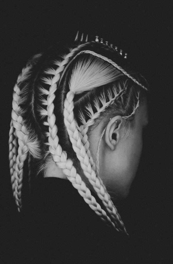 Braids and regrowth...oh my