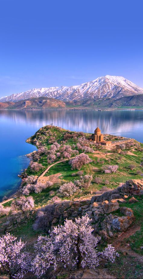 Akdamar Island, Lake Van, Turkey,