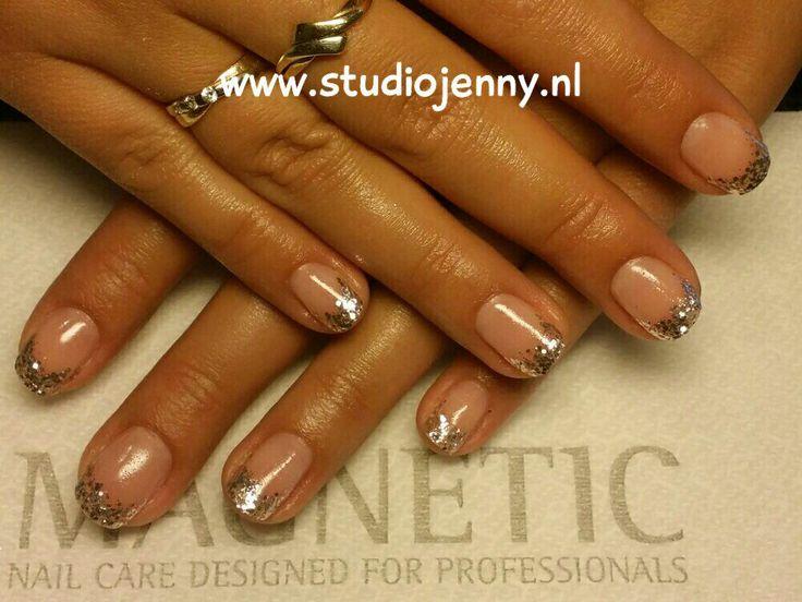 Zilveren French Manicure - Door Studio Jenny