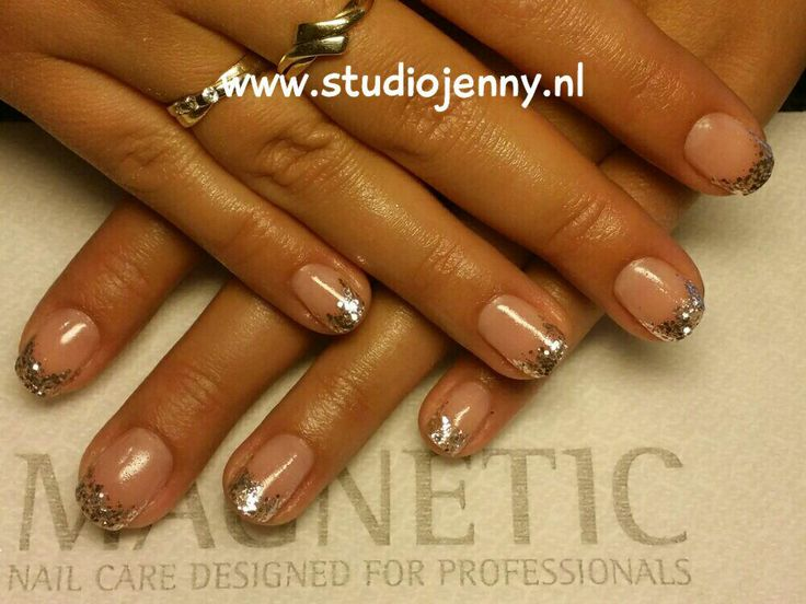 Zilveren French Manicure - Door Studio Jenny