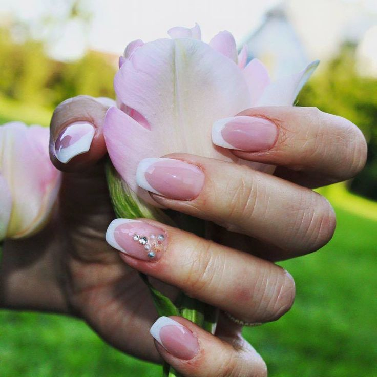 french ballerina nails