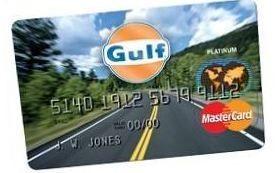 Gulf Credit Card Application   Gulf Oil Credit Card - Gulf Oil Credit Card : Bank And card