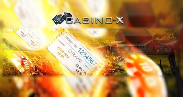 Лотерея «Метеоритный дождь» в игровом клубе Casino-X.  Принимайте участие в депозитной лотерее «Метеоритный дождь», которая проходит в онлайн клубе Casino-X каждую неделю. Теперь за привычные действия в казино любой игрок может получить призы!  Для участия в лотерее н