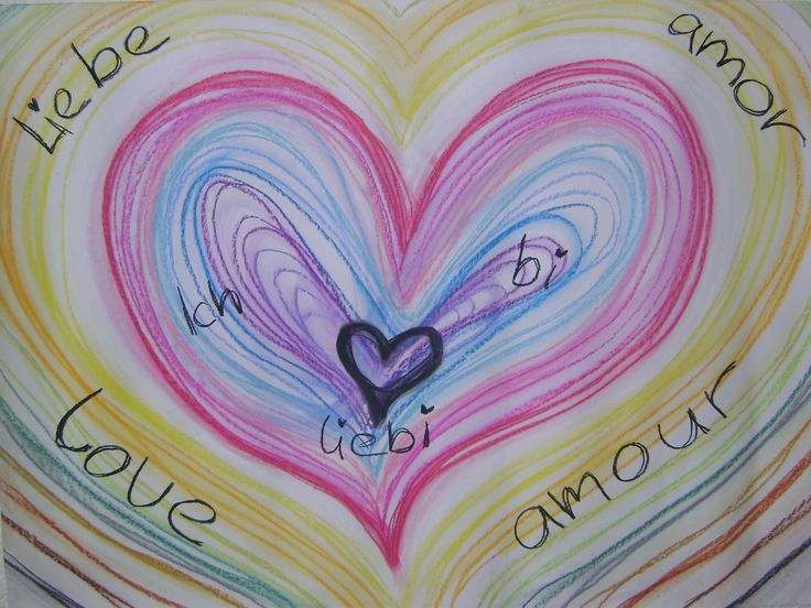 Made of chalk & love by Christine.  I am love! You are love!