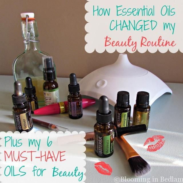 Essential oils change beauty routine