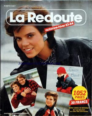 CATALOGUE DE LA REDOUTE A ROUBAIX no: 01/10/1983