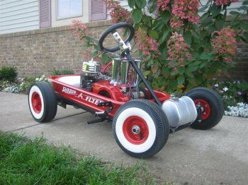 Miller - Welding Projects - Idea Gallery - Radio Flyer Go Kart