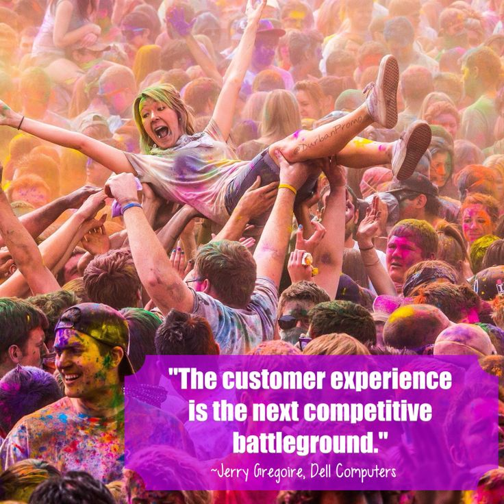Experience is everything!