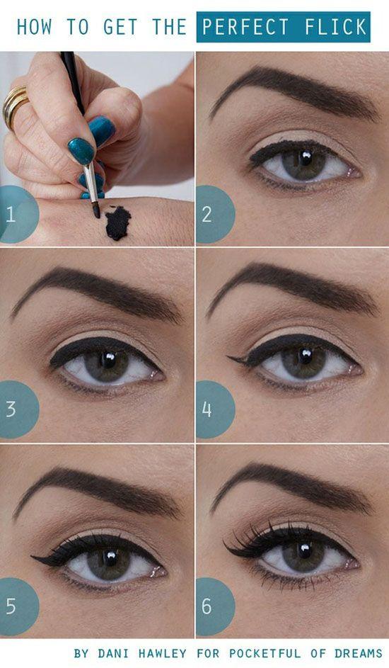 Perfect Flick Eye Makeup Tutorial