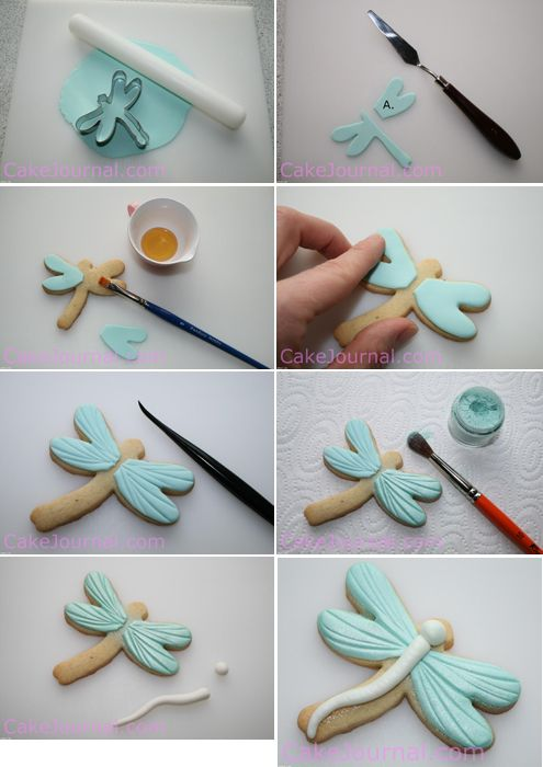 Decorar galletas con fondant  http://www.entrechiquitines.com/recetas/como-decorar-galletas-con-fondant/