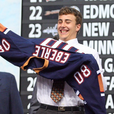 Eberle drafted 22nd overall in 2008