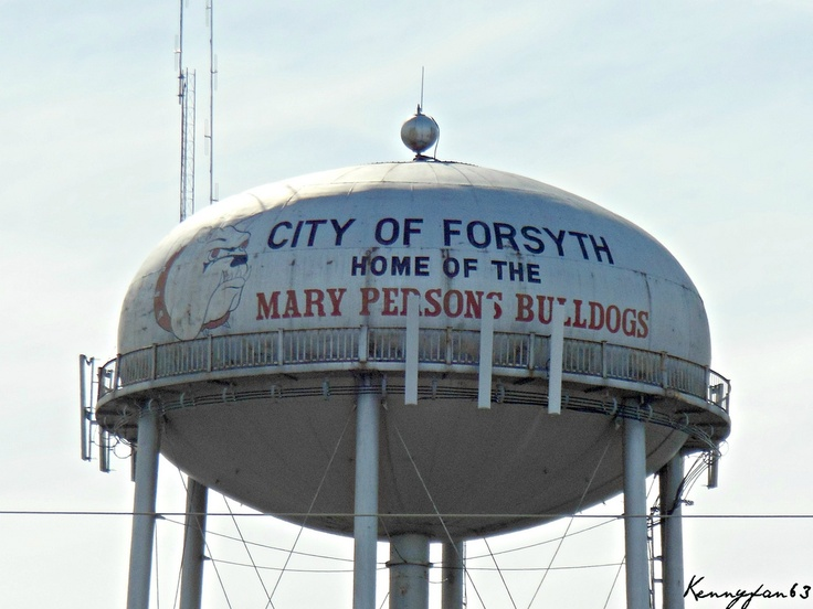 City Of Forsyth Georgia Water Tower