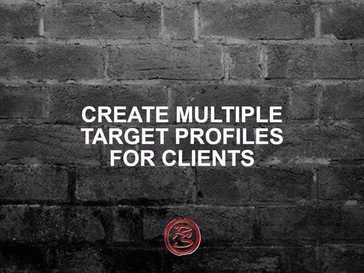 Be specific – really target a few of your client segments. Of course, you'll sell your products or services to anyone but think about who is your target audience.    #RockSocial #RockSM #OnlineProfiles #TargetAudience #TargetCustomers