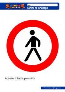 017 - Semne de circulatie pentru copii