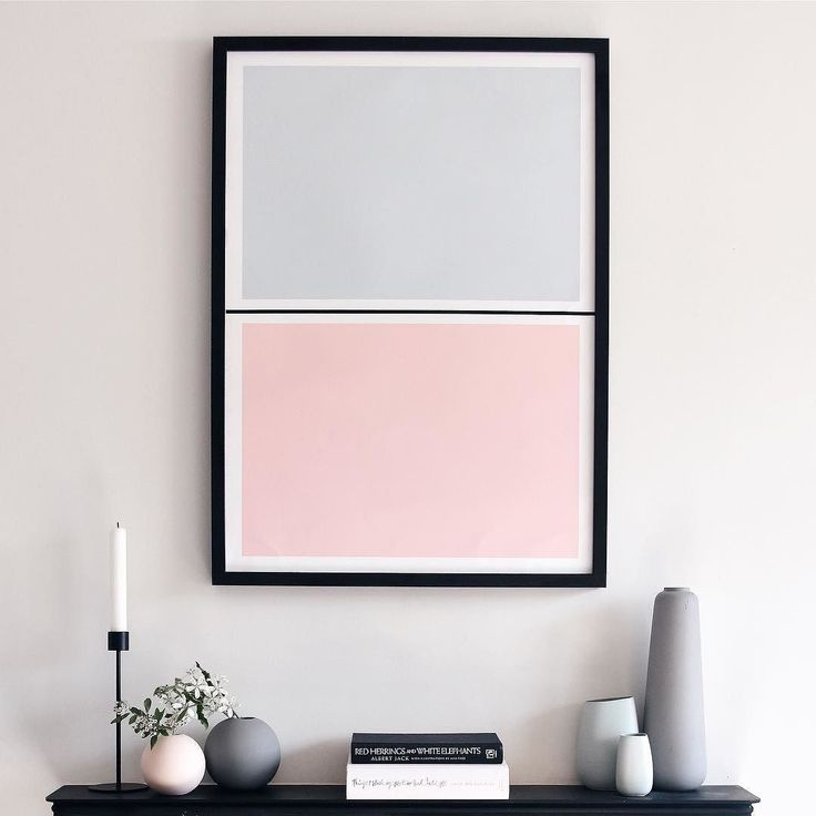 I love my new 'Twin Tone' print from @lanebypost. They were inspired by paint colour charts and they're available in all sorts of combinations. Mine matches my ceramics perfectly!