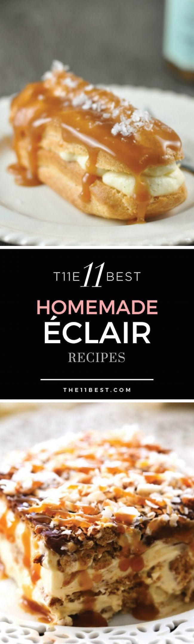Eclair recipes