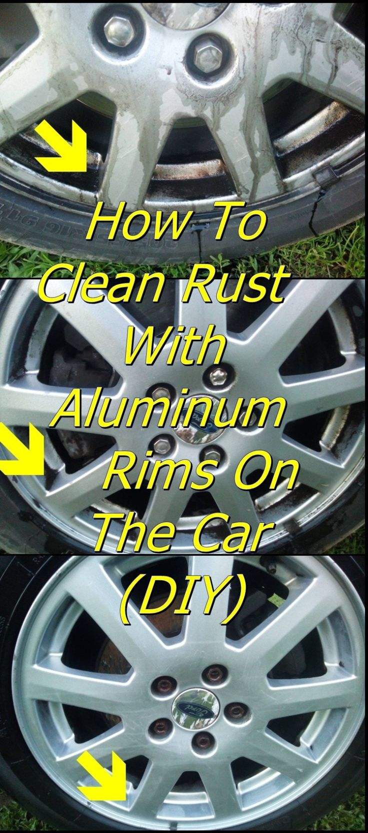 Sweet MacawHow To Clean Rust With Aluminum Rims On The