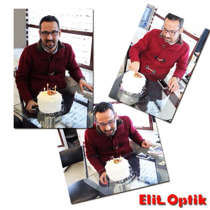 Elit Optik ailesinin güler yüzlü Müdür'üne Şirinyer mağazamızdan küçük doğum günü süprizi. İyi ki doğdun Emre Alşan #carsamba #elitoptik #gozluk #happy #istanbul #sunglasses #likes #nice #eyewear #girl #man #follow #fashion #moda #style #love #followme #fotograf  #smile #izmir #winter #cool #kis #kar #snow #goodmorning #sun #happybirthday #dogumgunu
