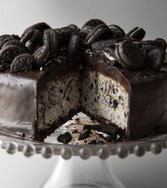 Cookies & Cream Cheesecake...oooohhh