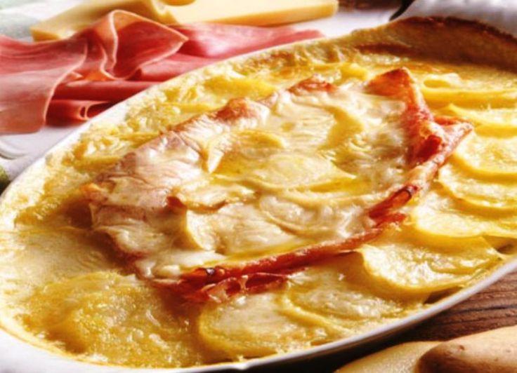Παστίτσιο πατάτας με τυρί και ζαμπόν | Jenny.gr