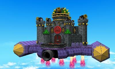 Neo Bowser Castle (Mario and Luigi Paper Jam) by Banjo2015.deviantart.com on @DeviantArt