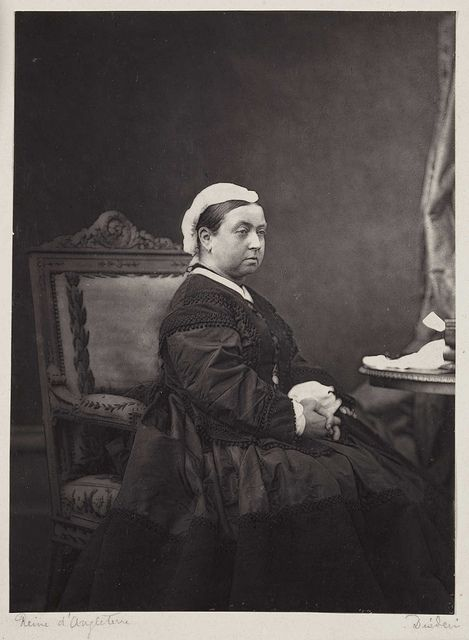Queen Victoria, c.1870.    By Andre-Adolphe-Eugene Disderi