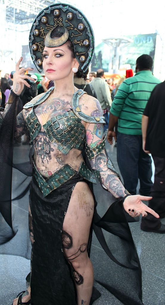 "https://flic.kr/p/MGqbhW | New York Comic Con 2016 | ""Enchantress"""