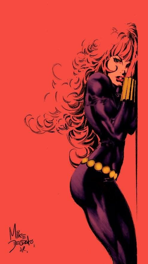 Black Widow by Mike Deodato Jr