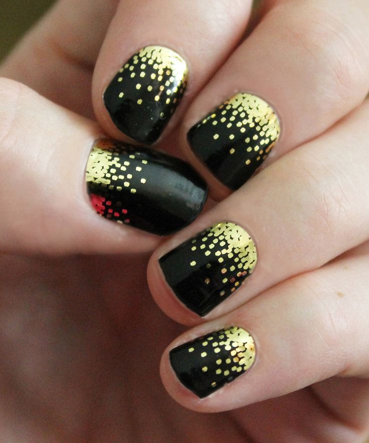 Another great find on #zulily! Black Sparkle Nail Wraps - Set of Two by So Gloss Nail Wraps #zulilyfinds