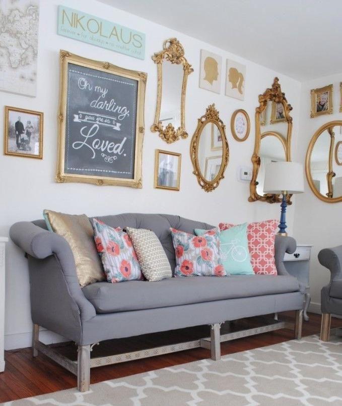 27 Ideas  de cómo, dónde y qué estilos utilizar para decorar con espejos