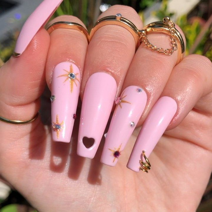 Dippy Cow Nails On Instagram Comment Below If You D Like To See These On Site Nailspo Femi Beaut Pink Acrylic Nails Cow Nails Coffin Nails Designs