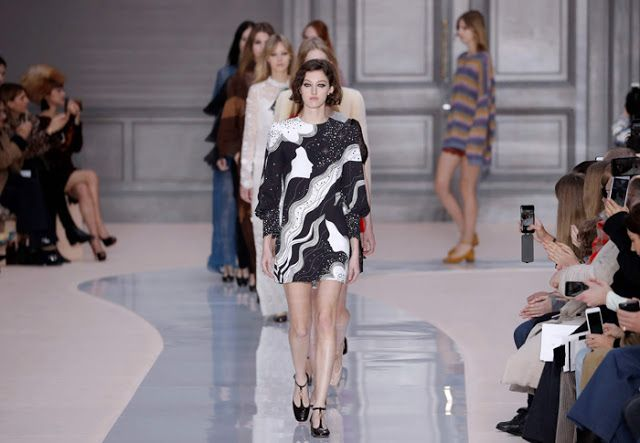 FOW 24 NEWS: Clare Waight Keller's Farewell Collection For Chlo...