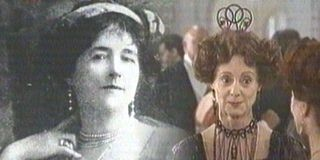 *LUCY, LADY DUFF GORDON & AYRES:  makes a brief appearance as a character in the James Cameron film. This is an interesting composite photo combining Lucy + Rosalind Ayers, portraying her in the film.