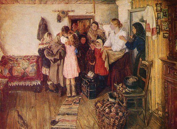 Киселёв Виктор Васильевич (1907-1985). Вернулся! (1947)