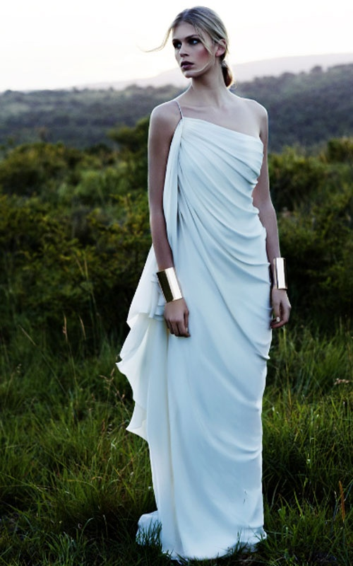 Grecian Gown by Amanda Wakeley