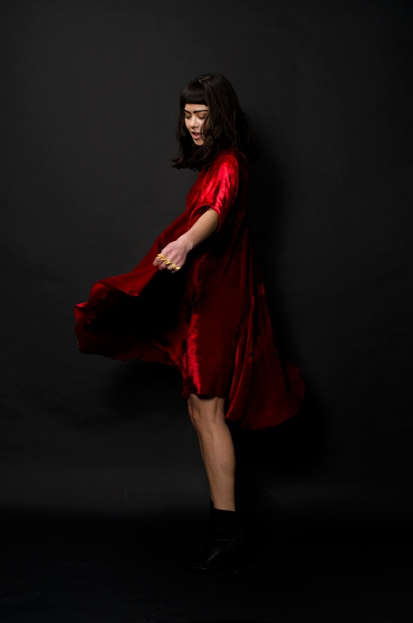 To celebrate our 8 Year Anniversary we have created 30 very special edition 'Rise' dresses in red, purple and black velvet. Each dress is signed, numbered and loving made in New Zealand.