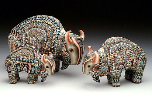 Jon Stuart Anderson's amazing sculptures