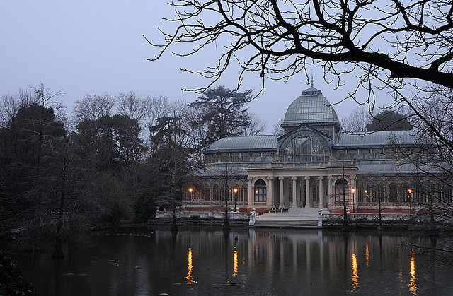 Winter in Crystal Palace (just after the dawn), Spain